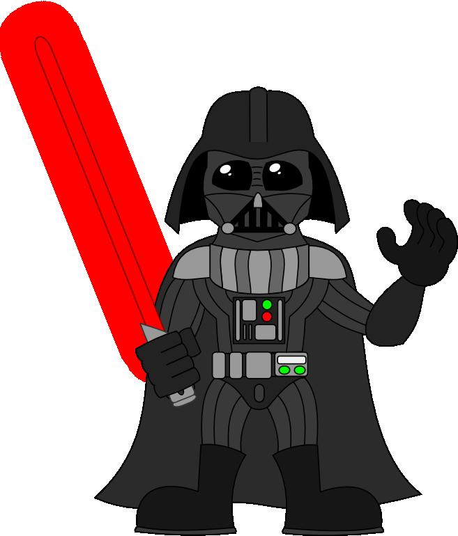 Drawing Practice – Darth Vader + Stormtrooper | Sirrob01