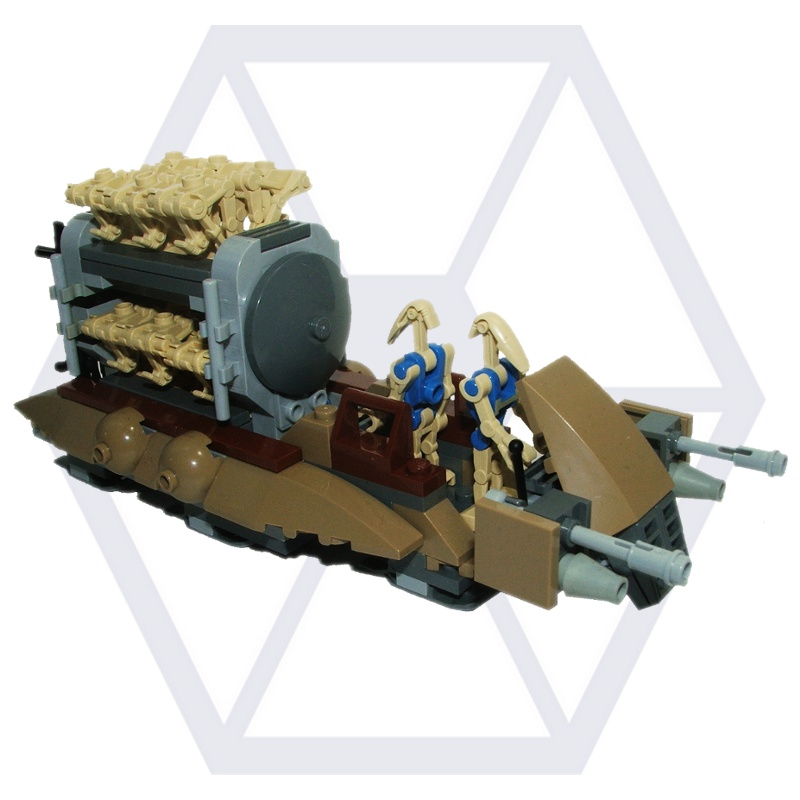 Separatist army sirrob01 - Lego star wars base droide ...