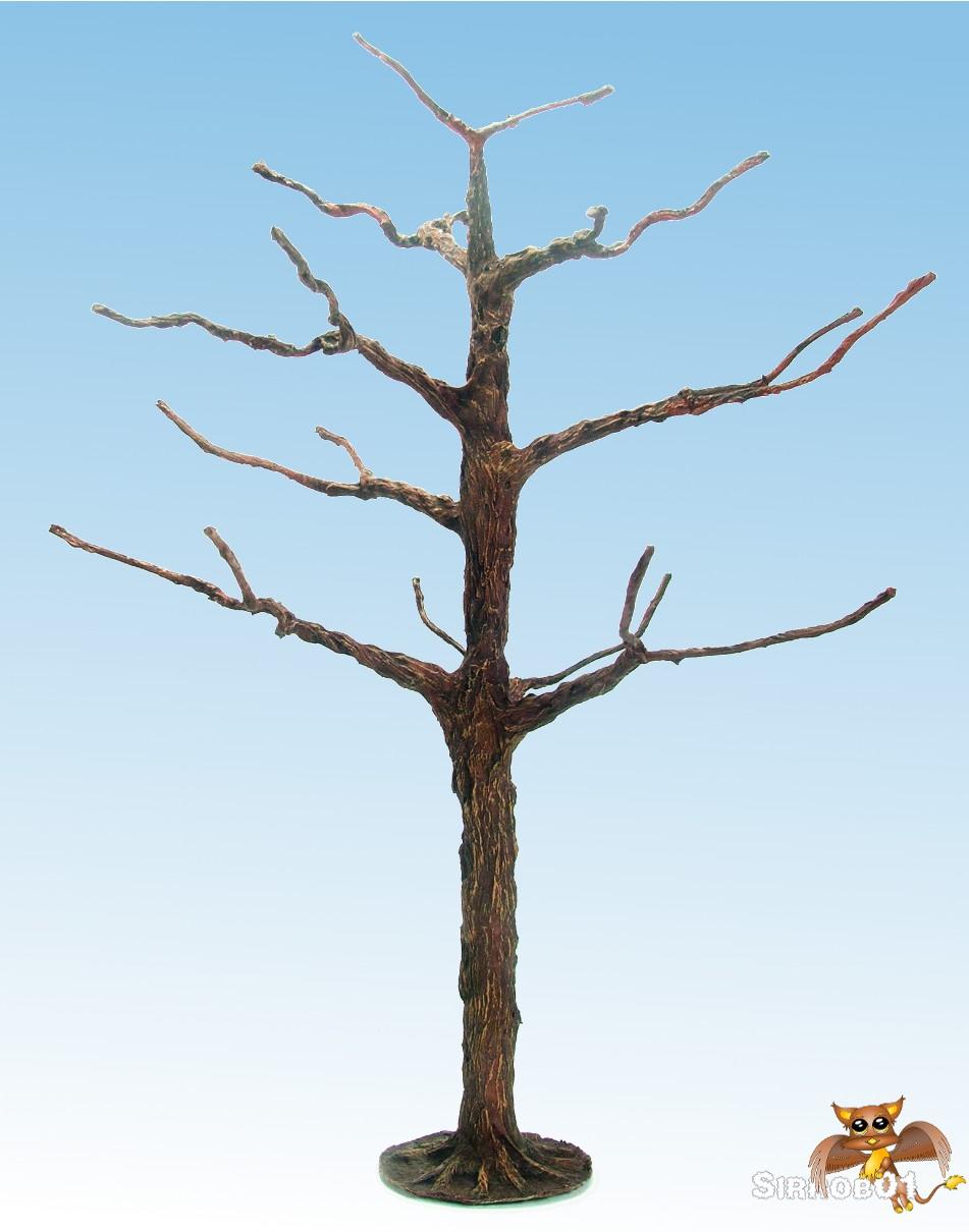 Wargaming Terrain – How to Make Trees (One Single Trunk) | Sirrob01