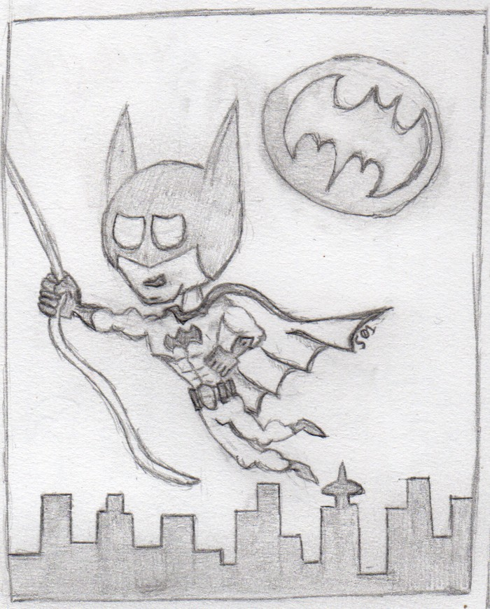 Drawing – Chibi Batman | Sirrob01