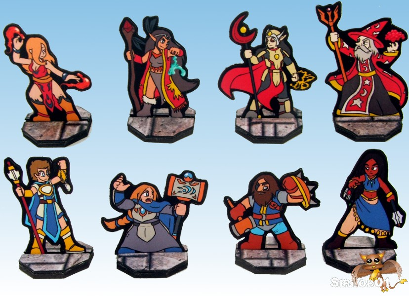 It is an image of Influential Printable D&d Character Tokens