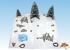 Snow Tundra Terrain Tiles