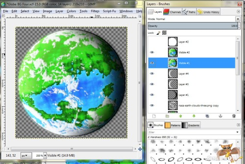 Gimp Planet Tutorial Fifteen