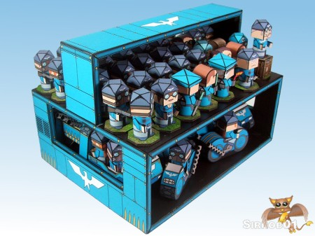 Flipit Blue Falcons Carrier Storage One