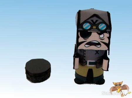 Flipit Black X Commander Erwin Muttonschnitzel Tank Riser
