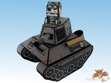Flipit Black X Commander Erwin Muttonschnitzel Uberpanzer (Tank)