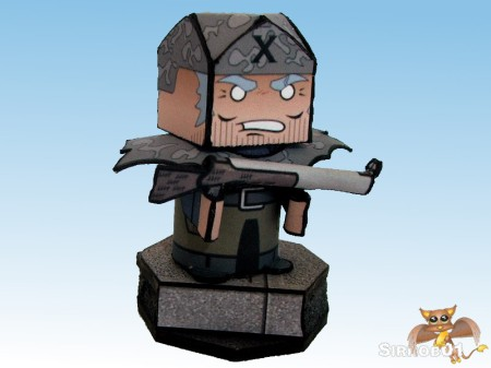 Flipit Black X Commander Hanz Gewehr