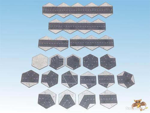 Asphalt Road Tiles 1200x900