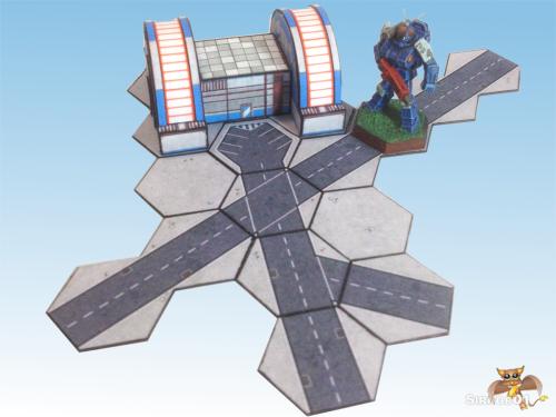 Asphalt Road Tiles mockup  1200x900