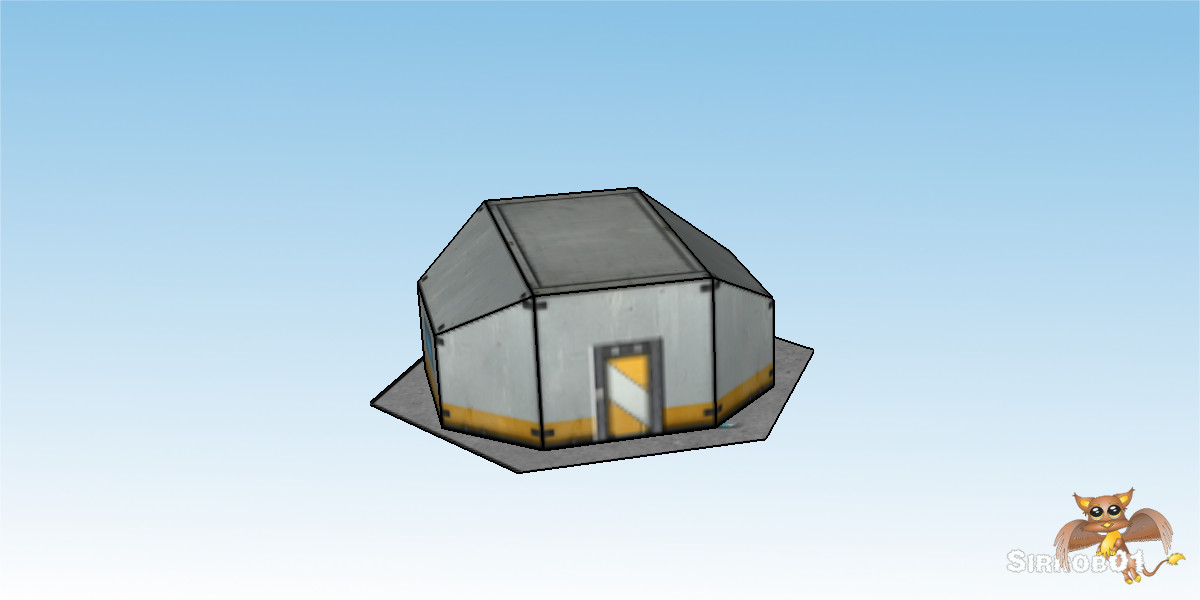 Battletech Building Sci Fi Houses Sirrob01