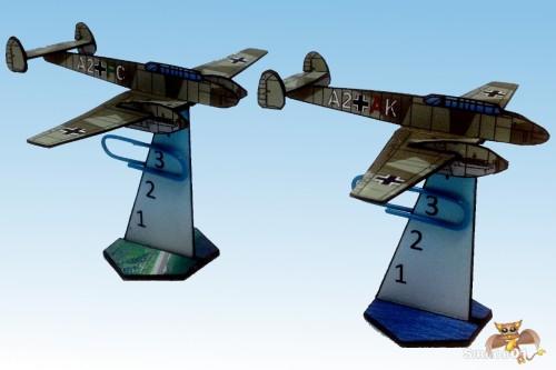 Messerschmitt Bf 110 2_5d paper aircraft