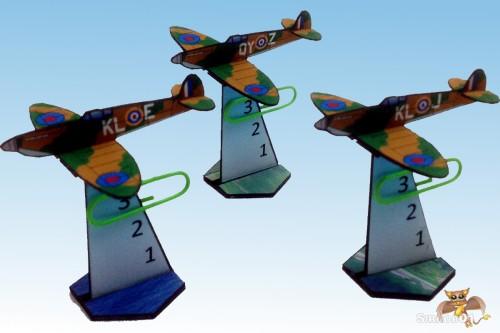 Supermarine Spitfire 2_5d paper aircraft